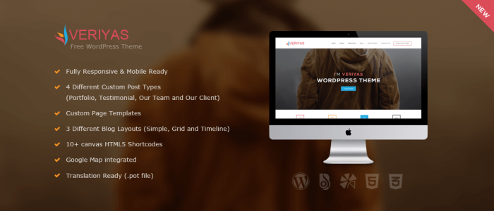 Veriyas-Free-WordPress-Theme