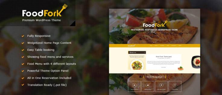 FoodFork-Restaturant-WordPress-Theme