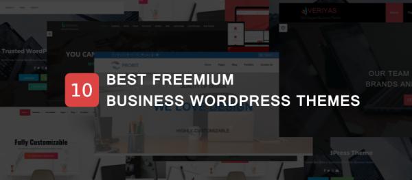 freemium wordpress business theme