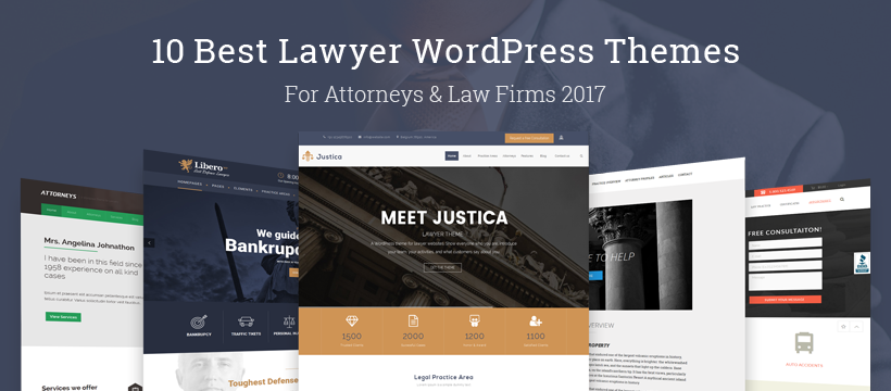 10 best lawyer wordpress themes for attorneys law firms 2017