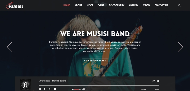 Musisi-WordPress-Themes-for-Musicians-Bands