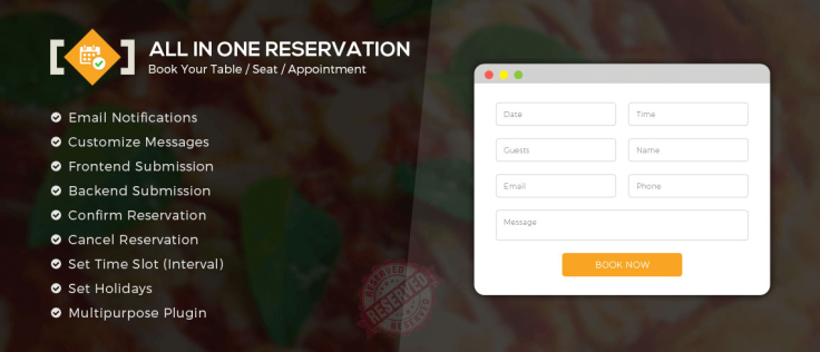 All-in-One-Reservation