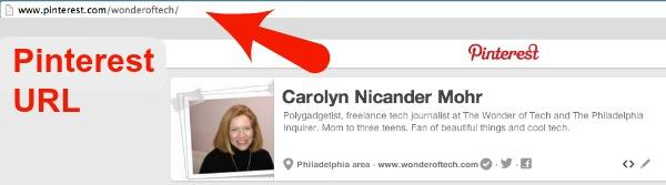 Pinterest-URL
